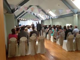 Upstairs ceremony